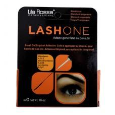 Adeziv Gene False cu Pensula Lash One - Negru