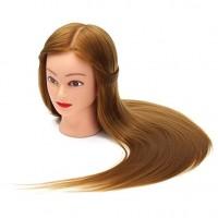 Cap Practica Coafor Par Blond Natural 100% - 55 - 60cm