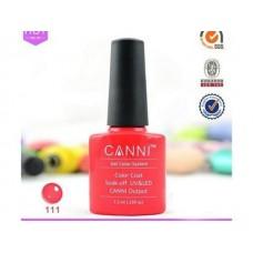 Oja Semipermanenta CANNI  7.3ml - Neon Red