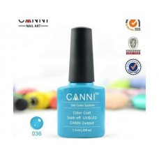 Oja Semipermanenta CANNI  7.3ml - Neon Blue