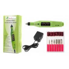 Freza Electrica Semiprofesionala pentru Unghii - Verde