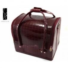 Geanta Make-Up Beauty Case - Burgundy