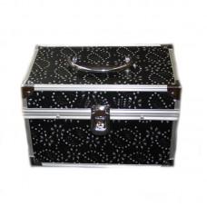 Geanta Cosmetice cu Cristale - Neagra