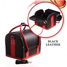 Geanta Make-Up Beauty Case - Black - Red